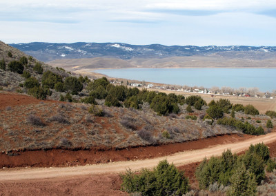 North American test site near Bear Lake, Utah.