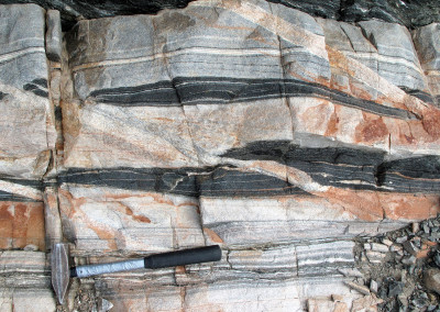 3 billion-year old gneisses of the East Antarctic craton.