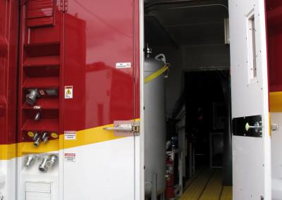 End door into the FRS module.