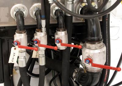 Hydraulic control manifold.