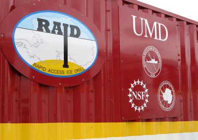 RAID project logos.